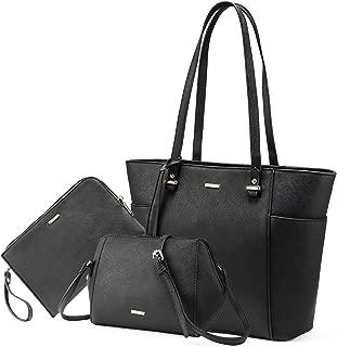 Women Purses and Handbags Chic Crossbody Bag Hobo 3pcs Large Capacity