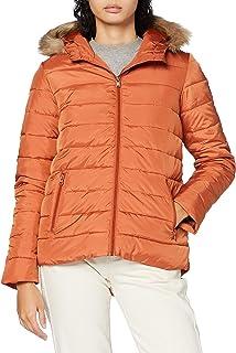 Roxy Rock Peak Fur - Chaqueta Con Capucha Y Acolchado Resistente Al Agua Para Mujer Chaqueta Con Capucha Y Acolchado Resis...