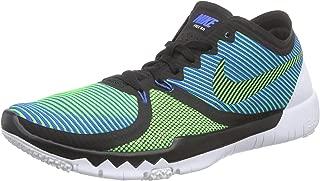 Nike Mens Free Trainer 3.0 V4, BLACK/GREEN STRIKE-SOAR-WHITE, 9 M US