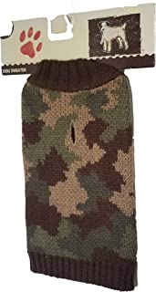 The Cayre Group Dog Sweater XS XSmall Camouflage