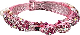 Betsey Johnson - Pink Flamingo Hinge Bangle
