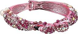 Betsey Johnson Pink Flamingo Hinge Bangle