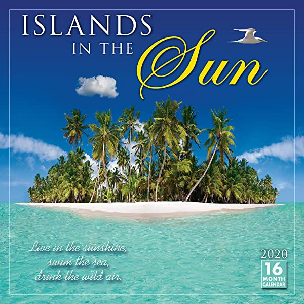 2020 Islands In The Sun 16 Month Wall Calendar
