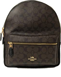 COACH Signature Medium Charlie Backpack