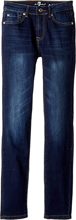 7 For All Mankind Kids - Slimmy Jeans in Santiago Canyon (Big Kids)