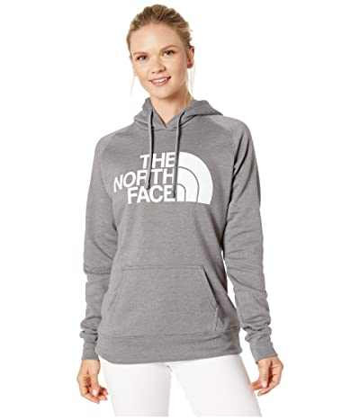 The North Face Half Dome Pullover Hoodie (TNF Medium Grey Heather/TNF White) Women