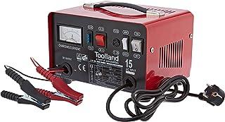 Toolland AC15 - Chargeur Batterie Accu - 12/24V - Fonction boost - Plomb Acide - 30x21x18.5cm