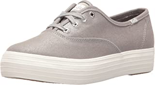 Keds Women's Triple Metallic Canvas Fashion Sneaker