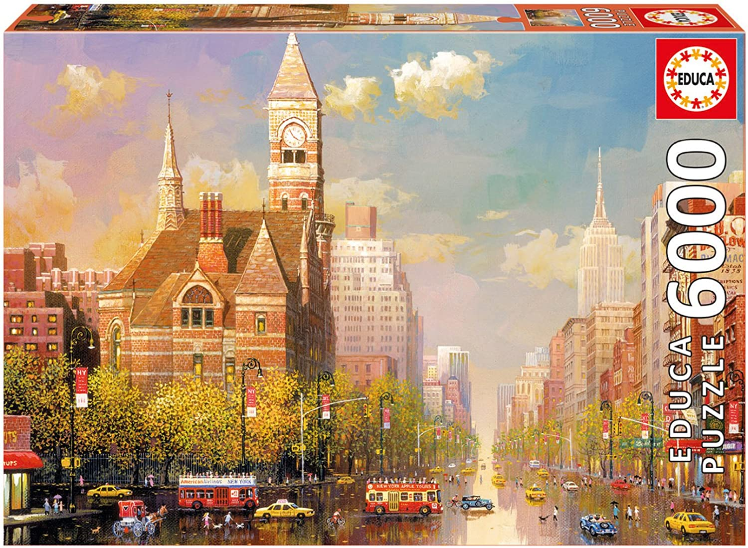Educa 16783 - 6000 New York Afternoon, Alexander Chen, Puzzle