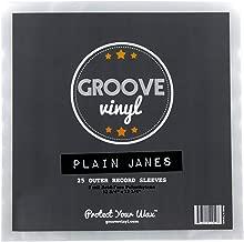 25 Vinyl Record Sleeves - 12.75