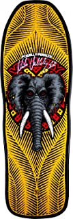 Powell-Peralta Mike Vallely Elephant Autographed Skateboard Deck Yellow