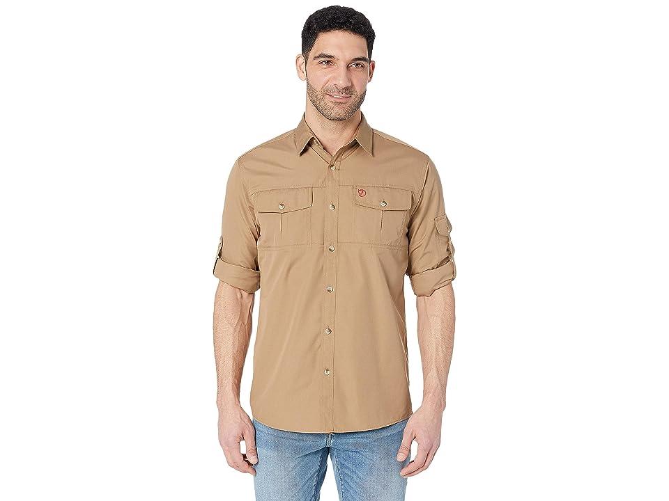 Fjallraven Sarek Trekking Shirt (Dark Sand) Men