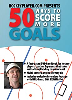 Hockey Player 50 Ways to Score More Goals Featuring Luc Robitaille