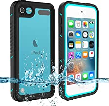 Sponsored Ad - iPod Touch 7 Touch 6 Touch 5 Waterproof Case, BESINPO Full-Body Protective Built-in Screen Protector Dustpr...