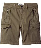 DL1961 Kids - Finn Shorts with Cargo Pockets in Patrol (Big Kids)