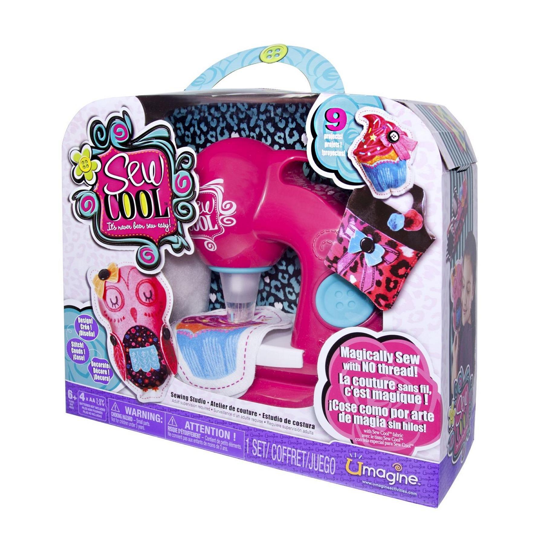 Máquina de Coser de Juguete Sew Cool: Amazon.es: Juguetes y juegos