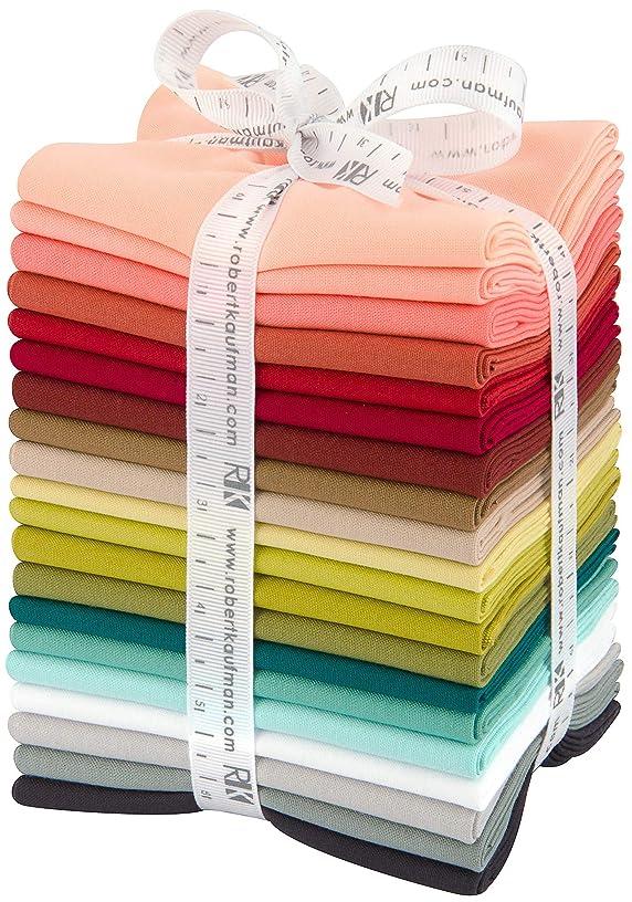 Violet Craft Kona Cotton Solids Designer Palette Series 20 Fat Quarters Robert Kaufman FQ-1481-20 pbp8828108288155