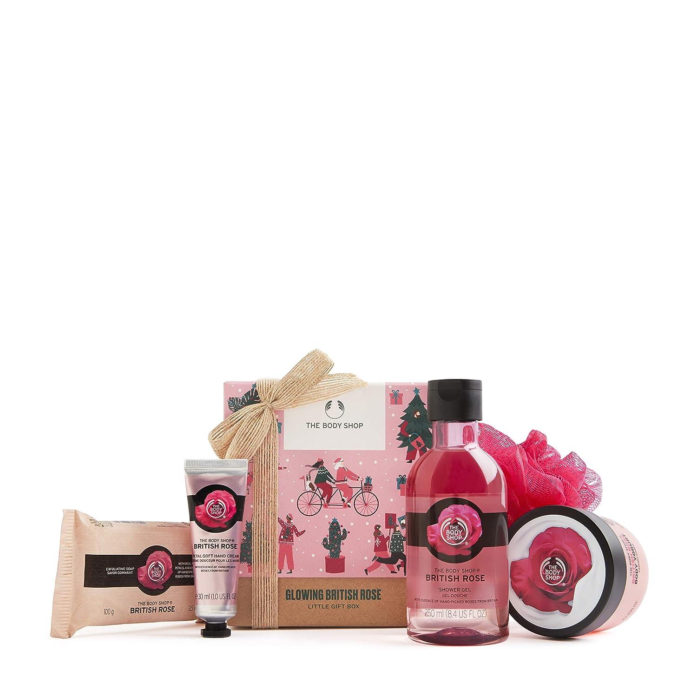 ハイクオリティ The Body Shop 激安セール British Rose-5pc Small Gift floral with c body Set