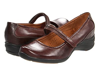 Hush Puppies Epic Mary Jane (Dark Brown Leather) Women