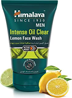 Himalaya Intense Oil Clear Lemon Face Wash - 100 ml