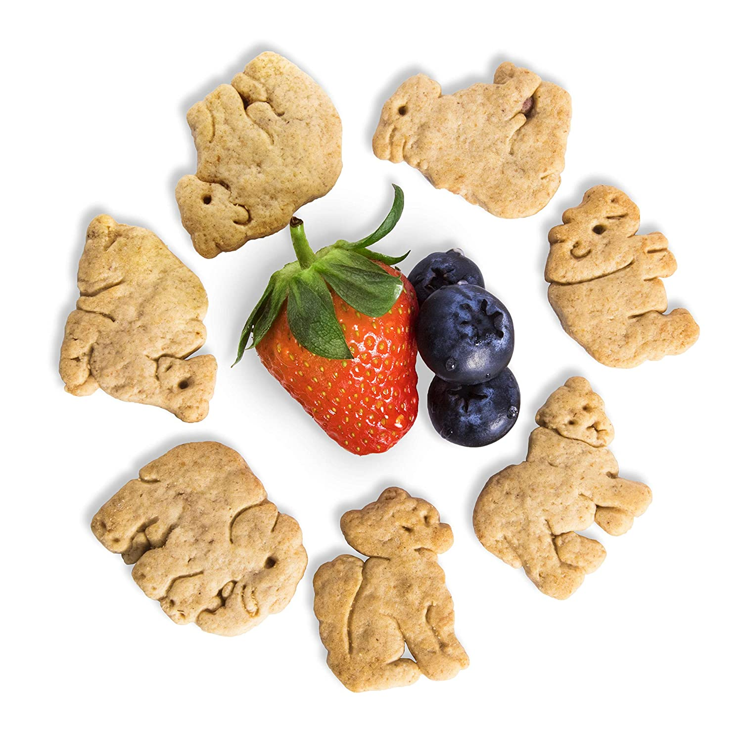 Appleways Bulk Max 75% OFF Mixed Berry Animal Crackers Selling 5 1 count lbs.