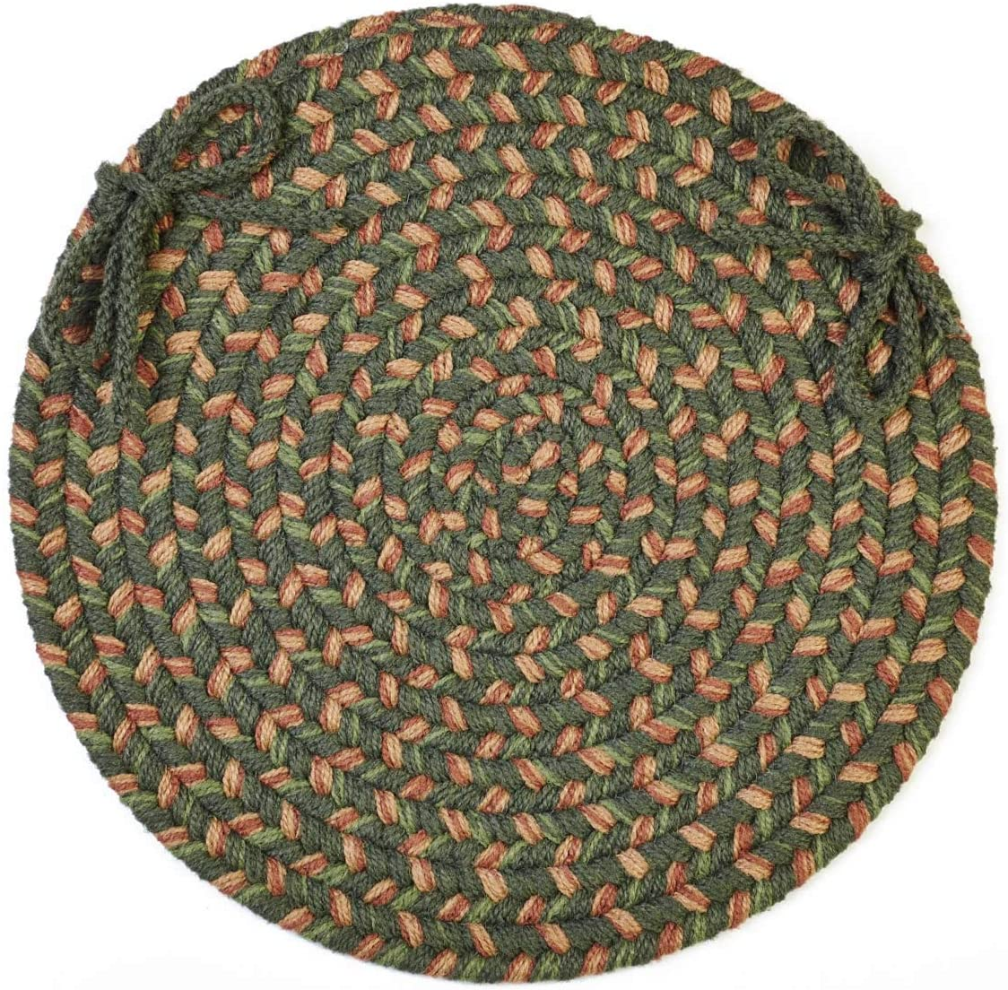 Super Area Rugs Hartford 5 ☆ popular Seattle Mall Chair Pad Cushion for Kitch Seat Dining