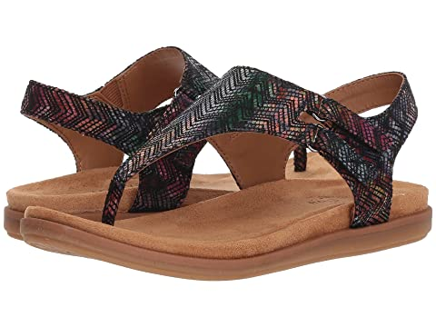 Comfortiva Adjustable Thong Leather Sandals - Calina cheap sale for sale 2tJ1lP