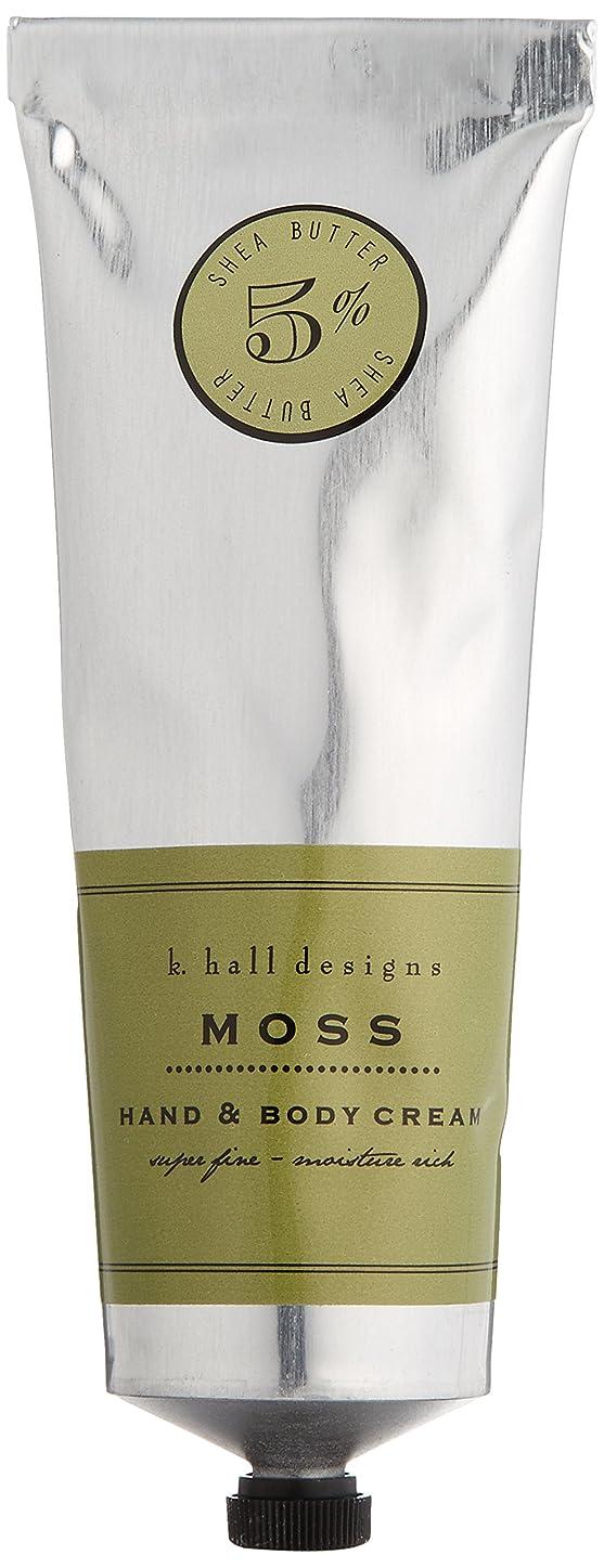 あからさま無条件教室k.hall designs(ケイホール デザインズ) ハンド&ボディクリーム モス