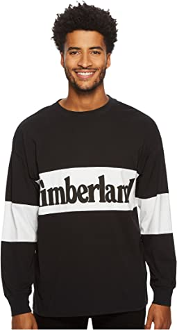 Timberland Warner River Long Sleeve Retro Oversized Tee