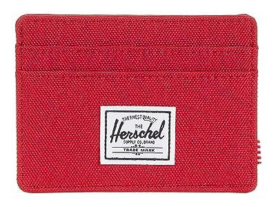 Herschel Supply Co. Charlie RFID (Red) Wallet Handbags
