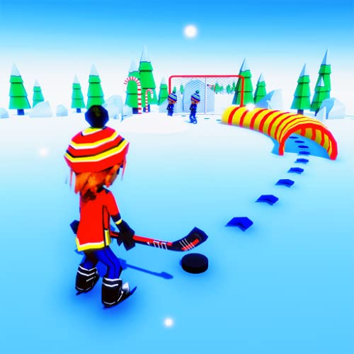 Crazy Ice Hockey Shoot - Skating Puck Puzzle Game
