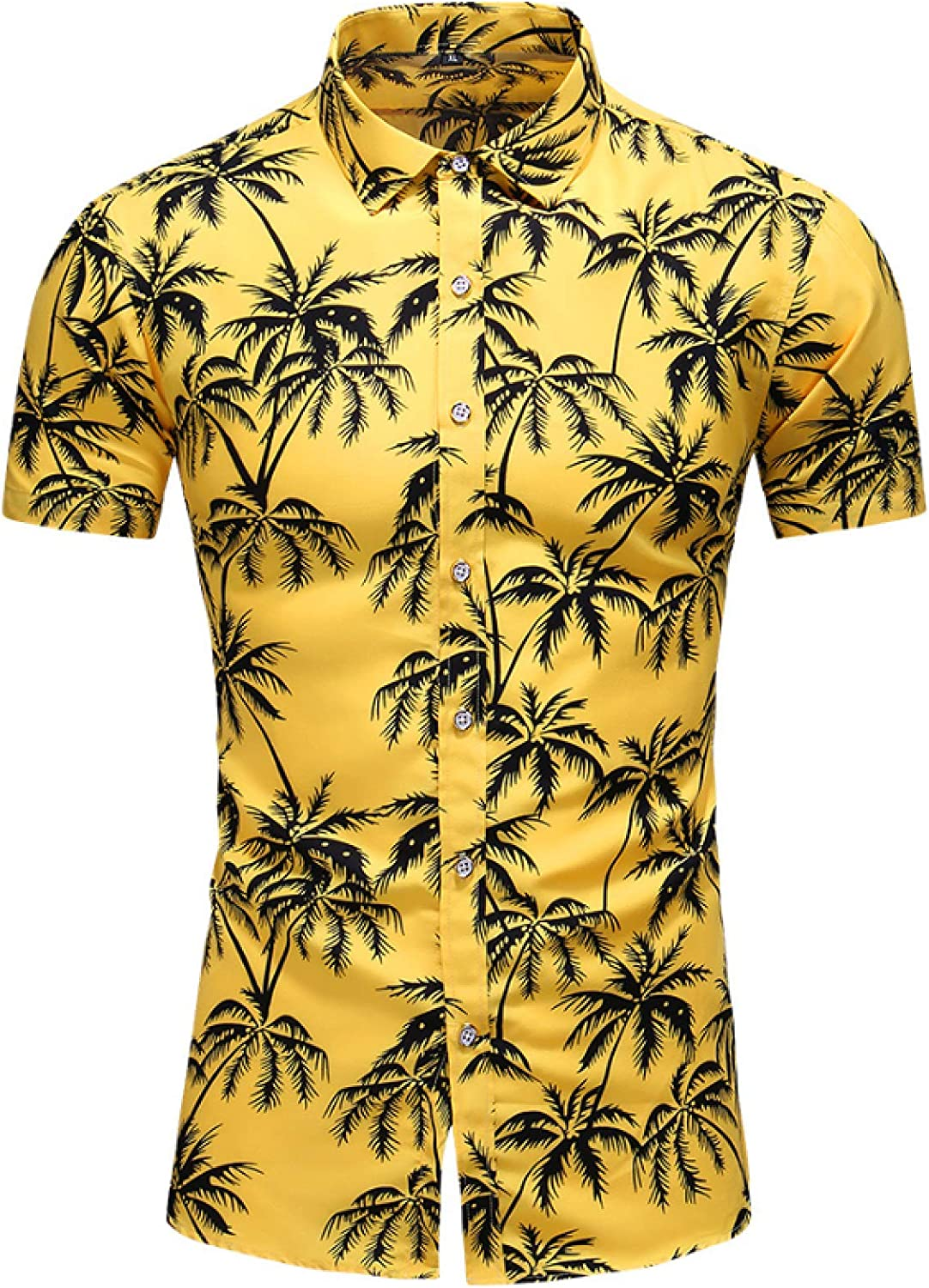 Men's Short-Sleeved Shirts Stylish Super All stores are sold popular specialty store Hawaiian Fashionable