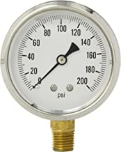 Best 0 200 psi air pressure gauge Reviews
