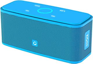 DOSS SoundBox Bluetooth Speaker, Portable Wireless Bluetooth 4.0 Touch Speakers with 12W HD Sound and Bold Bass, Handsfree, 12H Playtime for Phone, Tablet, TV,Gift Ideas[Blue]