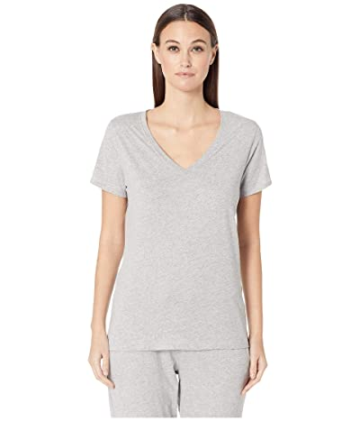 Skin Natural Skin Organic Cotton Jade Tee (Heather Grey) Women
