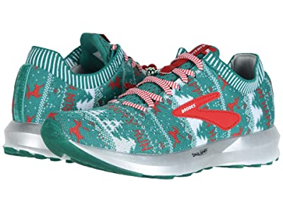 Brooks Levitate 2 (Green/White/Red (Holiday Edition)) Women