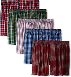Ultimate Men's Tagless Boxers Comfort Flex Waistband 5-Pack