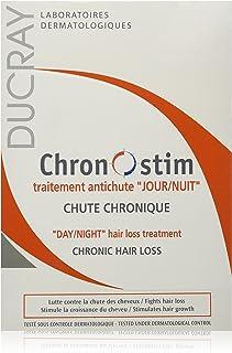Ducray Chronostim Day/Night Hair Loss Treatment Lotion Spray Set, 30 ml