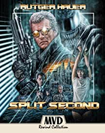 SPLIT SECOND Starring Rutger Hauer Makes Its Long-Awaited Debut On Blu-ray Aug. 11 from MVD