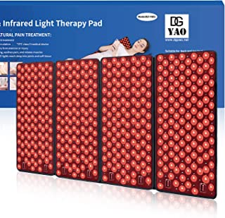 "Infrared & Red Light Therapy Devices Pad for Body(39.3""×23.6""),Deep Penetrats Muscles and Joints Effectively to Improve Blood Circulation and Body Back Pain Reliever"