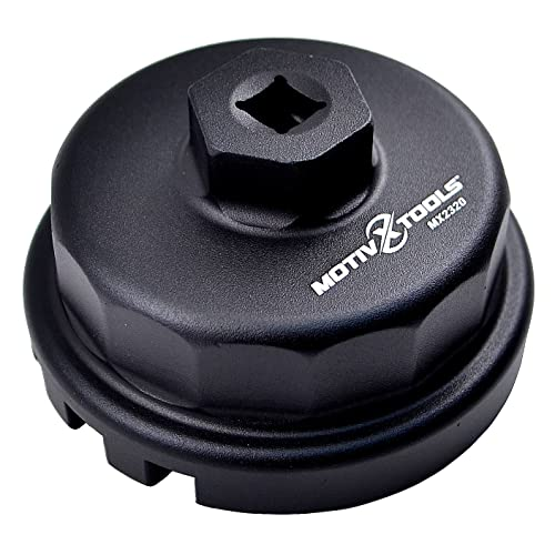 motivx tools oil filter wrench for toyota, lexus, and scion 2 0 to 5 7 liter