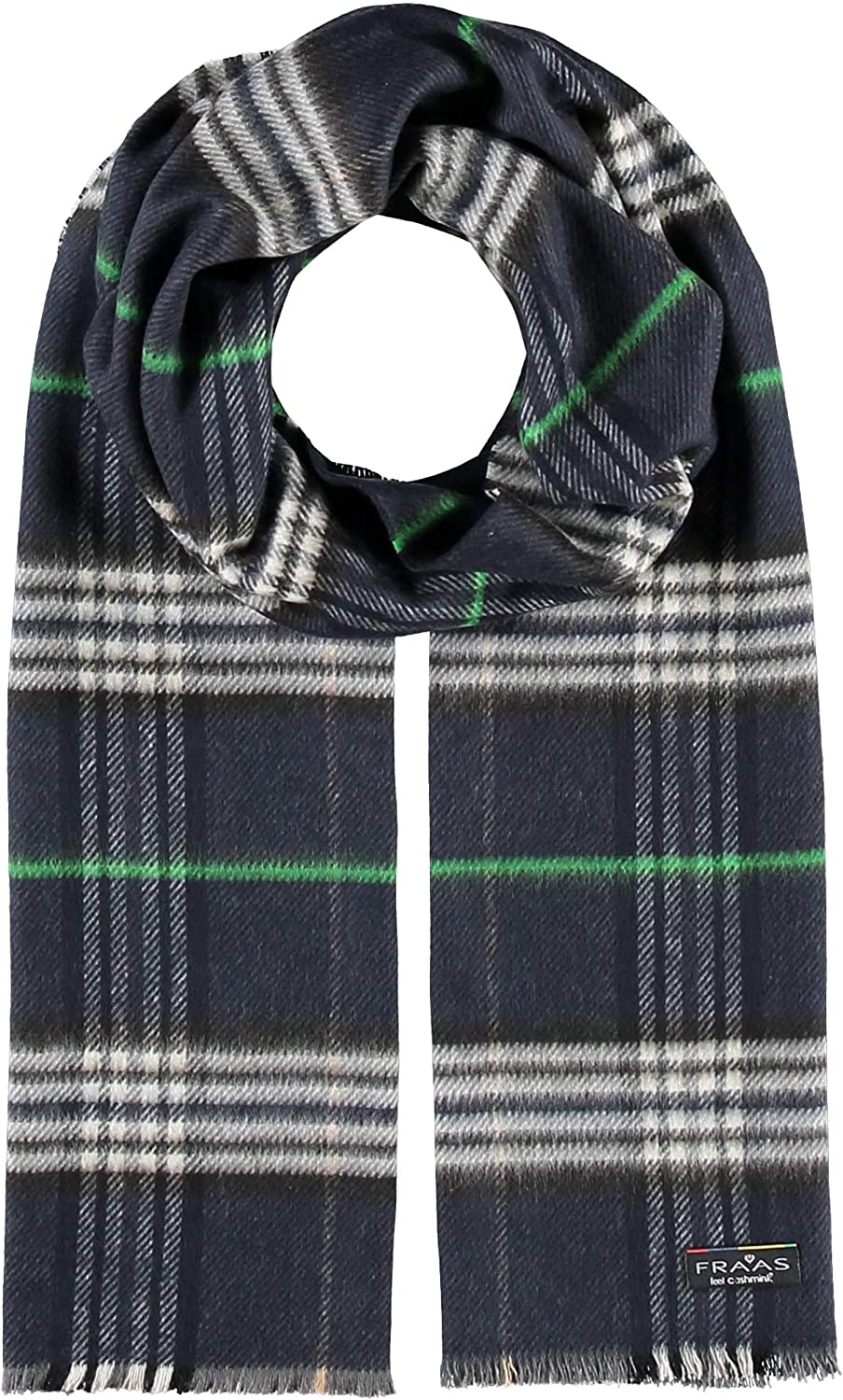 FRAAS Plaid Sustainability Animer and price revision Edition Cashmink - Women Portland Mall Scarf Men