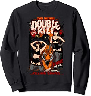 ROCKSTAR Gothic Retro Vintage Sexy Betty & Tiger - Pin-up Sweatshirt