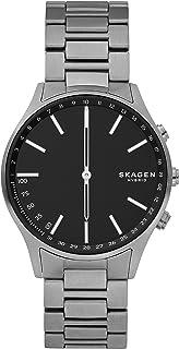 Skagen Connected - Reloj inteligente híbrido de titanio para hombre, color gris (modelo: SKT1305)