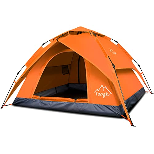 Toogh 2-3 Person Camping Tent Backpacking Tent Automatic Instant Pop Up Tent for Outdoor