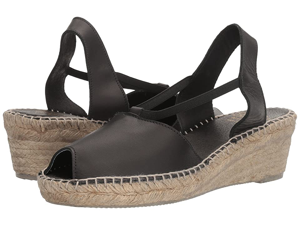 Andre Assous Dainty (Black Swan Leather) Women