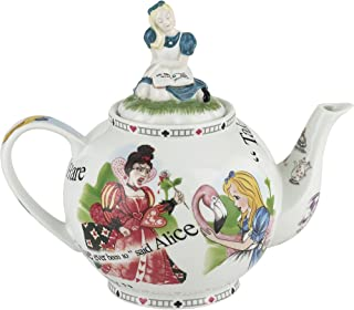 Cardew Design Alice in Wonderland 6-Cup Teapot, 48-Ounce