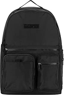 حقائب ظهر للبالغين من الجنسين، باللون الأسود، مقاس واحد أمريكي