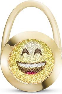 Original – Soporte para Bolso de Mano Style Charms Smiley Crystals by Swarovski® – Hecho a Mano en Alemania.