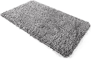Delxo 24 x 36 Inch Magic Doormat Absorbs Mud Doormat No Odor Durable Anti-Slip Rubber Back Low-Profile Entrance Door Mat L...